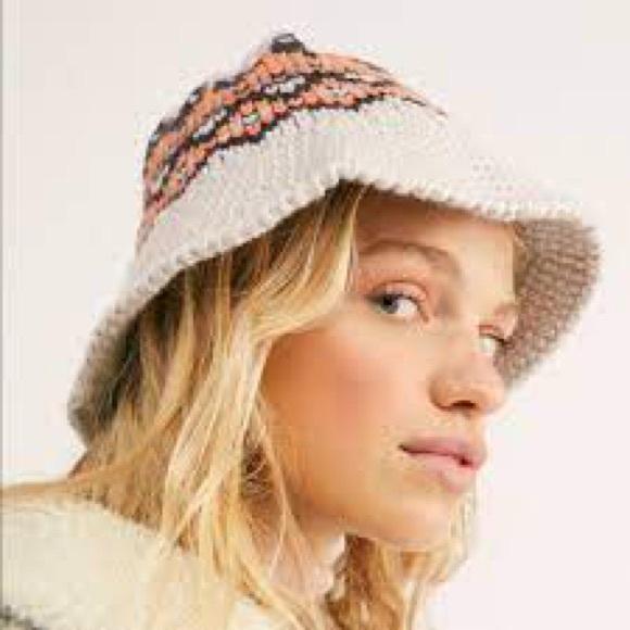 Free People   High Road Fairisle Bucket Hat